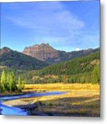 Yellowstone National Park Landscape Metal Print