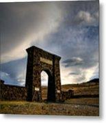 Yellowstone North Gate Metal Print