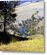 Yellowstone River Vista Metal Print