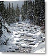 Yellowstone -  Soda Butte Creek Metal Print