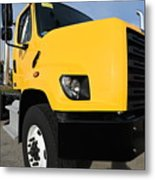 Yellowtruck Metal Print