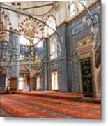 Yeni Cami Mosque Metal Print