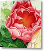 Yes It Is A Rose Metal Print