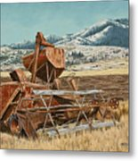 Yesterday I Was Tired, Today I Am Retired. Metal Print