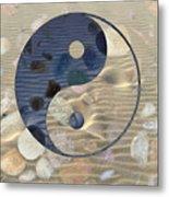 Yin Yang Harmony Metal Print