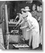 Ymca Women Workers Metal Print