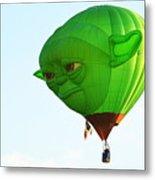 Yoda In The Sky Metal Print