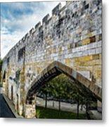 York City Roman Walls Metal Print