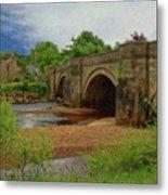 Yorkshire Bridge - P4a16015 Metal Print
