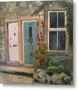 Yorkshire Cottages Metal Print