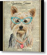 Yorkshire Terrier-jp3856 Metal Print