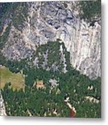 Yosemite Aerial View - California Metal Print