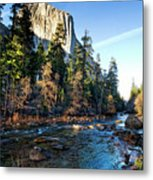 Yosemite Afternoon Metal Print