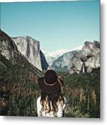 Yosemite Awe Metal Print