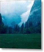 Yosemite Clouds II Metal Print