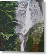 Yosemite Falls 1 Metal Print