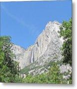 Yosemite Falls Again Metal Print