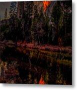 Yosemite Firefall 2015 Metal Print