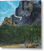 Yosemite Political Statement Metal Print