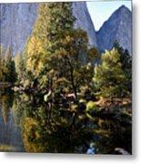 Yosemite Reflections 3 Metal Print