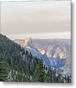 Yosemite Sunrise Metal Print