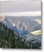 Yosemite Sunrise II Metal Print