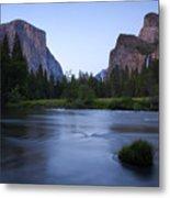 Yosemite Twilight Metal Print