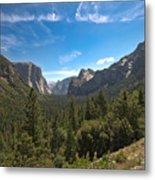 Yosemite Valley 3 Metal Print
