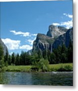 Yosemite Valley View X Metal Print