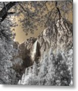Yosemite Waterfall Metal Print