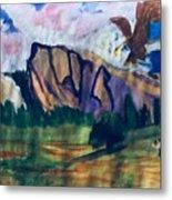 Yosemite Wildlife Metal Print