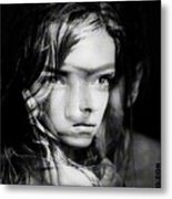 You Always Were A Thinker Mary Lou. Metal Print