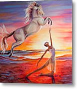 You Are Andalusian Metal Print