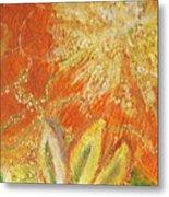 You Are My Sunshine Flower Metal Print