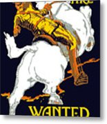 You Are Wanted By Us Army Metal Print