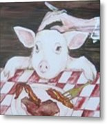 You Are What You Eat Number  2 Metal Print