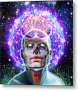 You Are Your Own God Take Responsablility Metal Print