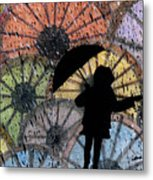 You Can Stand Under My Umbrella Metal Print