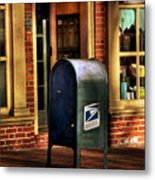 You Got Mail Metal Print by Todd Hostetter