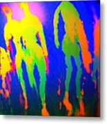 You Walked Into The Blue And Left Me Behind  Metal Print