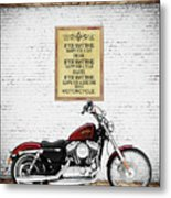 You Want To Be Happy 5 Metal Print