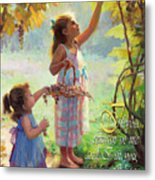 You Will Bear Much Fruit Metal Print