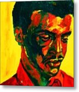 Young African Man Metal Print