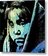 Young Child Metal Print