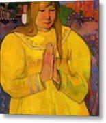 Young Christian Girl 1894 Metal Print