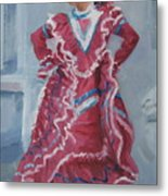Young Dancer At Arneson Theater Metal Print