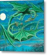 Young Dragons Frisk Metal Print