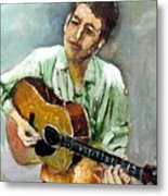 Young Dylan 1 Metal Print