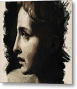 Young Faces From The Past Series By Adam Asar, No 117 Metal Print