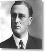 Young Franklin Delano Roosevelt Metal Print by War Is Hell Store